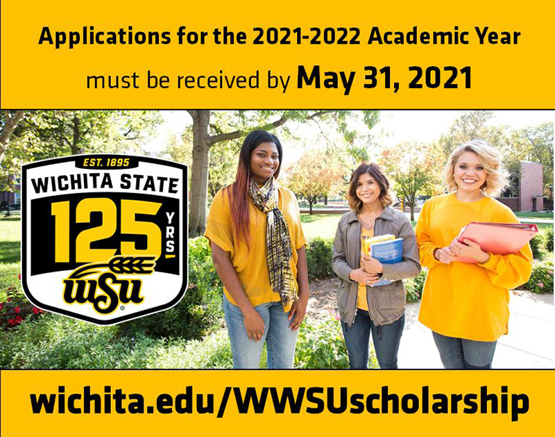 Applications for the 2021-22 academic year must be received by May 31, 2021. www.edu/wwsuscholarship