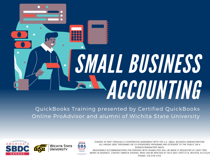 The Kansas Small Business Development Center is hosting two QuickBooks webinars July 27 and 28.