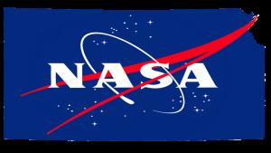 NASA in Kansas logo.