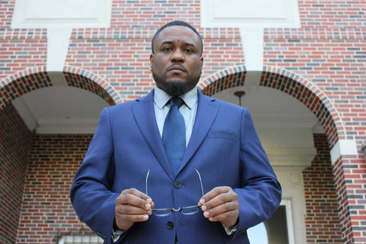 Dr. Kevin Harrison pictured at Wichita State University campus.