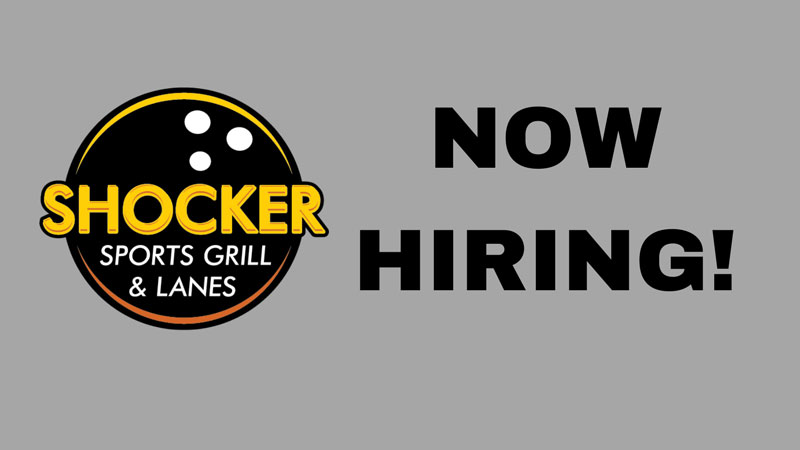 Shocker Sports Grill and Lanes Now Hiring