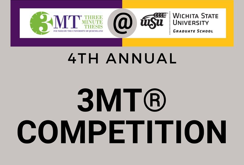 Three Minute Thesis at WSU: 4th annual 3MT Competition Registration open.