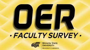 OER faculty survey
